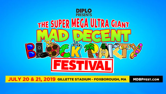 THE SUPER MEGA ULTRA GIANT MAD DECENT BLOCK PARTY FESTIVAL IN BOSTON - PACKAGE 1 of 5