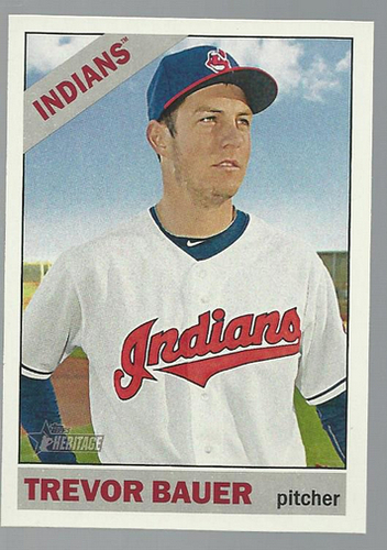 Photo of 2015 Topps Heritage #186 Trevor Bauer