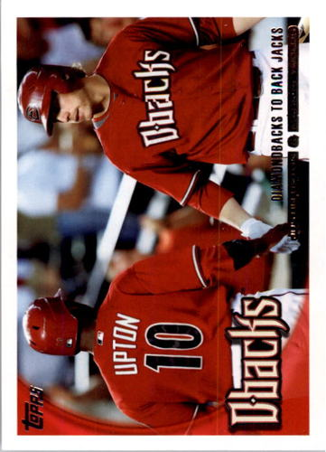 Photo of 2010 Topps #510 Justin Upton/Mark Reynolds