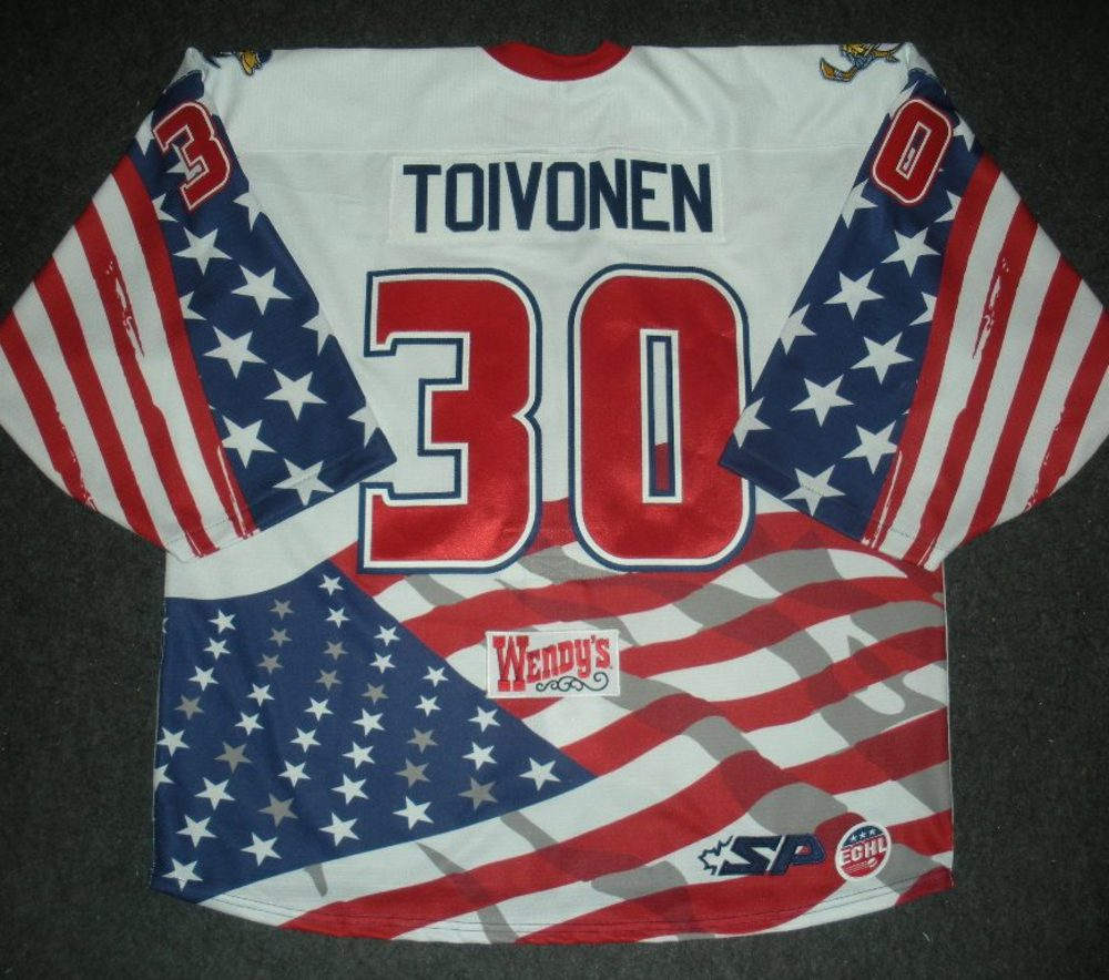 Hannu Toivonen - Golden Goalie - Toledo Walleye - Game-Worn Jersey - Worn 1/3/14