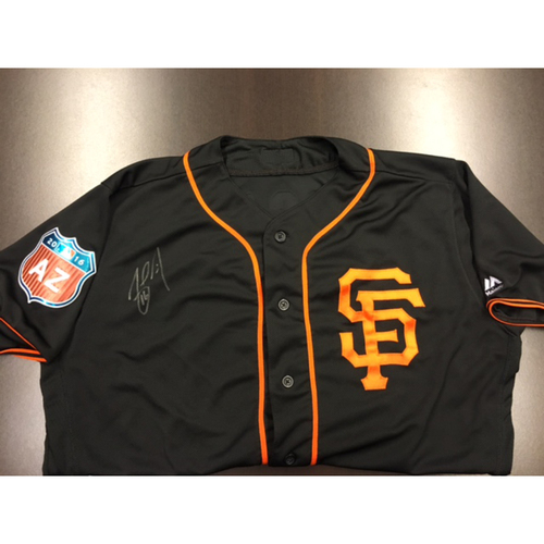 Photo of Giants End of Year Auction: Angel Pagan Autographed Spring Training Jersey