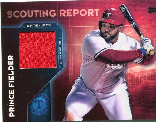 Photo of 2016 Topps Scouting Report Relics #SRRPF Prince Fielder