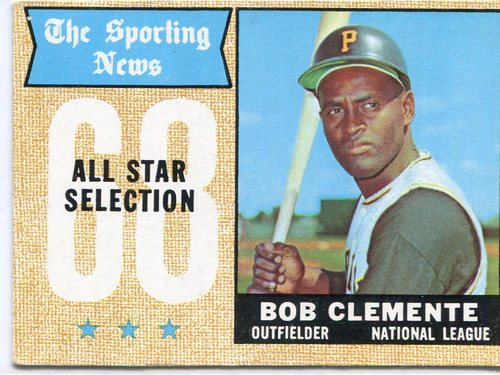 Photo of 1968 Topps #374 Roberto Clemente All Star