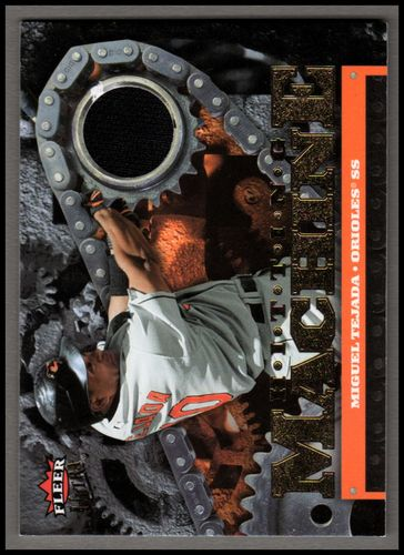 Photo of 2007 Ultra Hitting Machines Materials #TE Miguel Tejada