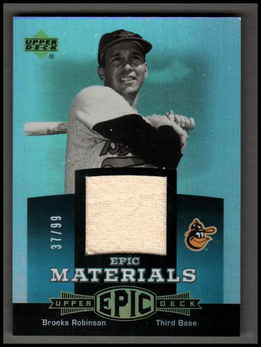 Photo of 2006 Upper Deck Epic Materials Teal #RO Brooks Robinson Pants/99