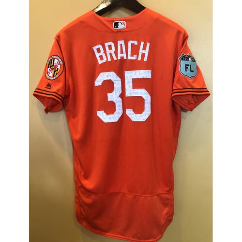 Photo of Brad Brach - 2017 Spring Training Jersey: Team-Issued
