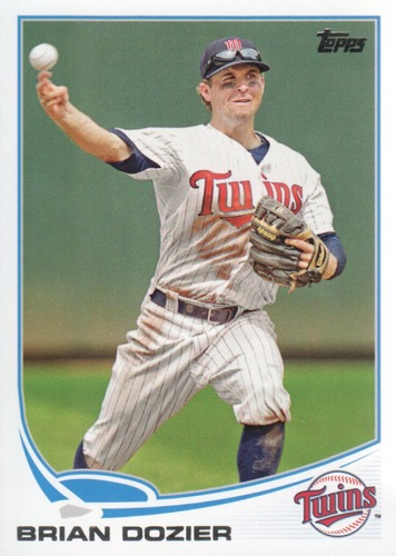 Photo of 2013 Topps #596 Brian Dozier