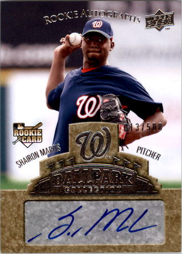 Photo of 2009 Upper Deck Ballpark Collection #97 Shairon Martis AU/500 RC