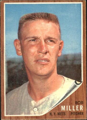 Photo of 1962 Topps #293 Bob Miller
