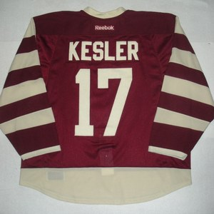 Ryan Kesler - 2014 Heritage Classic - Vancouver Canucks - Maroon Game-Worn Jersey - Worn in First Period