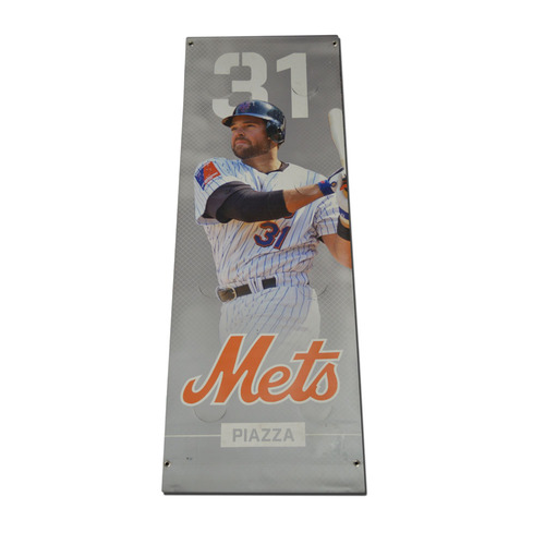 Mike Piazza #31 - Citi Field Banner - 2016 Season