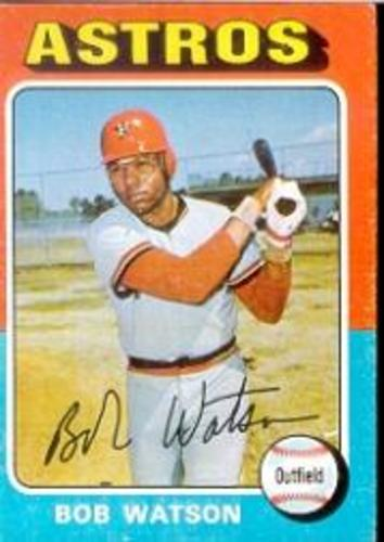 Photo of 1975 Topps #227 Bob Watson