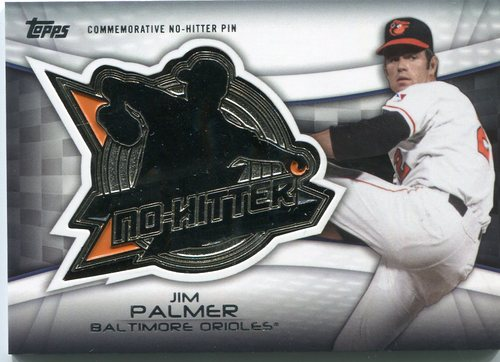 Photo of 2016 Topps No Hitter Pins #NHPJP Jim Palmer