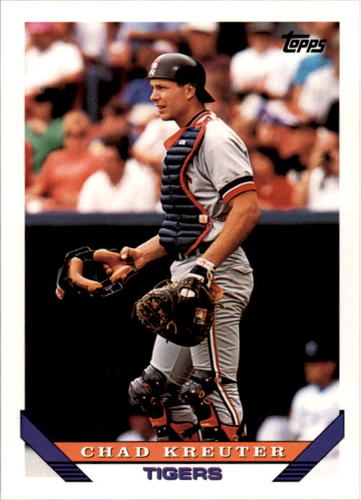 Photo of 1993 Topps #692 Chad Kreuter