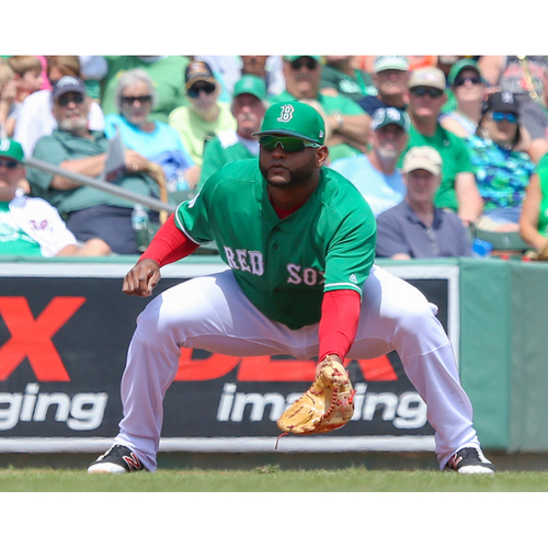 Photo of Red Sox Foundation St. Patrick's Day Jersey Auction - Pablo Sandoval Game-Used & Autographed Jersey