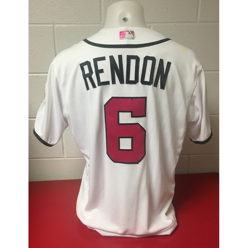 Photo of Game-Used Jersey: Anthony Rendon