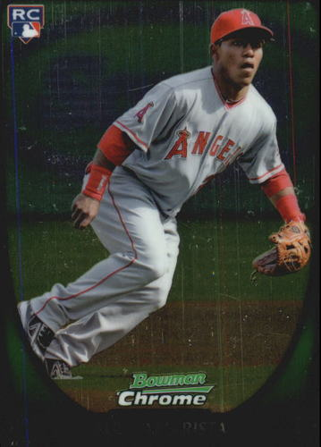 Photo of 2011 Bowman Chrome Draft #3 Alexi Amarista Rookie Card -- Rockies post-season