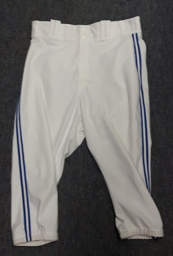 Authenticated Team Issued White Pants - #43 R.A. Dickey (2015 Season). Size 36-43 19.