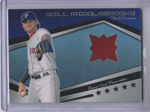 Photo of 2012 Topps Pro Debut Minor League Materials #WMI Will Middlebrooks