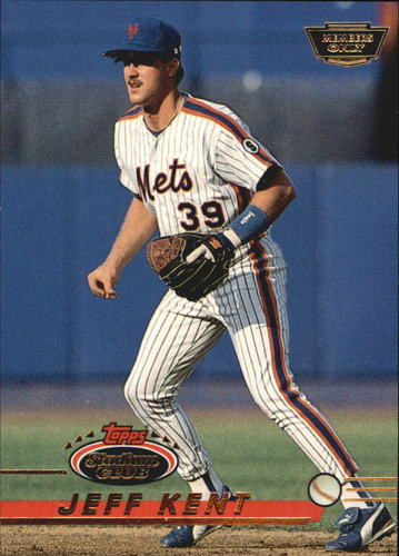 Photo of 1993 Stadium Club Members Only Parallel #269 Jeff Kent