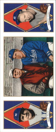 Photo of 1993 Upper Deck All-Time Heroes #152 Babe Ruth/Whitey Ford