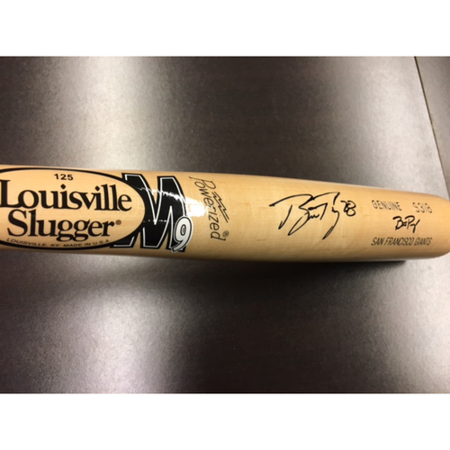 Photo of Giants End of Year Auction: Buster Posey Personalized Autographed Bat