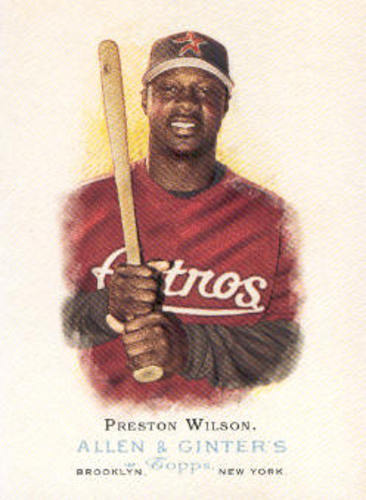 Photo of 2006 Topps Allen and Ginter #164 Preston Wilson