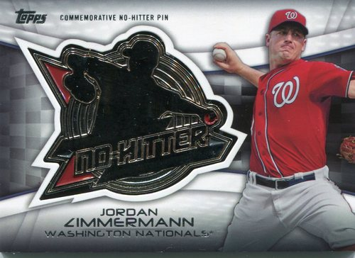 Photo of 2016 Topps No Hitter Pins #NHPJZ Jordan Zimmermann