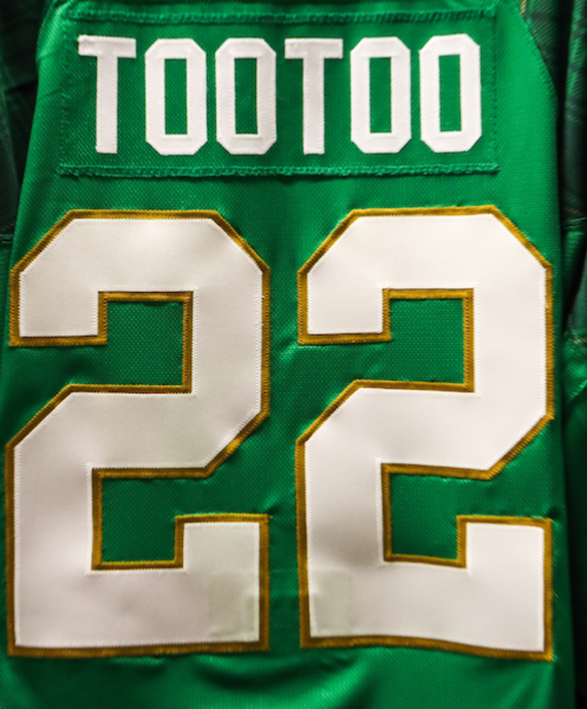 #22 - Jordin Tootoo Autographed Authentic St. Patrick's Day Jersey