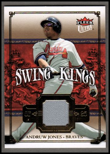 Photo of 2007 Ultra Swing Kings Materials #AJ Andruw Jones