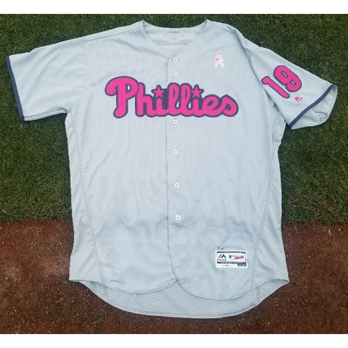 Photo of 2017 Game-Used Mother's Day Tommy Joseph Jersey (homerun)