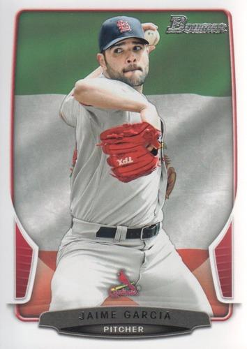 Photo of 2013 Bowman Hometown #77 Jaime Garcia -- Yankees post-season
