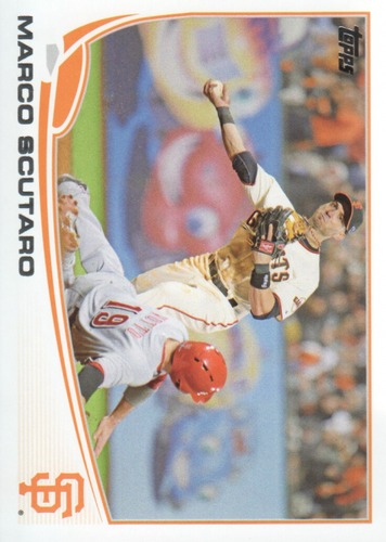 Photo of 2013 Topps #597 Marco Scutaro