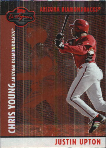 Photo of 2008 Topps Co-Signers Silver Red #59b Justin Upton/Chris Young