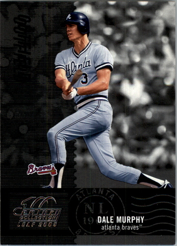 Photo of 2005 Leaf Century #190 Dale Murphy