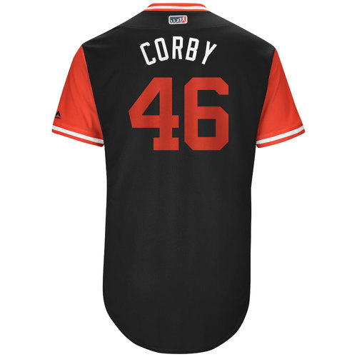 "Photo of Patrick ""Corby"" Corbin Arizona Diamondbacks Game-Used Players Weekend Jersey"