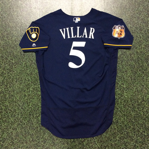 Photo of Jonathan Villar 2017 Game-Used Spring Training Jersey