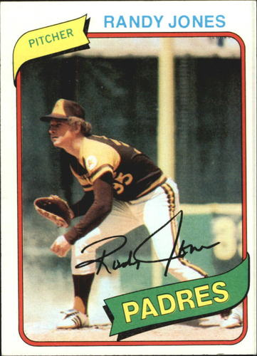 Photo of 1980 Topps #305 Randy Jones