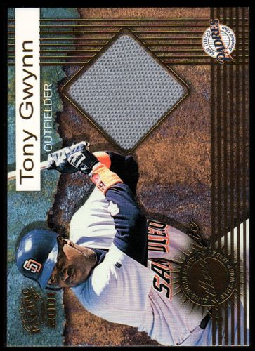 Photo of 2001 Pacific Game Jersey #7 Tony Gwynn
