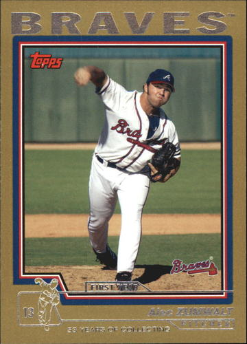Photo of 2004 Topps Traded Gold #T177 Alec Zumwalt FY