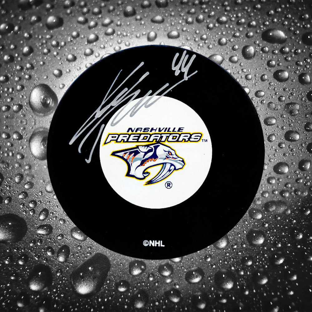 Kimmo Timonen Nashville Predators Autographed Puck