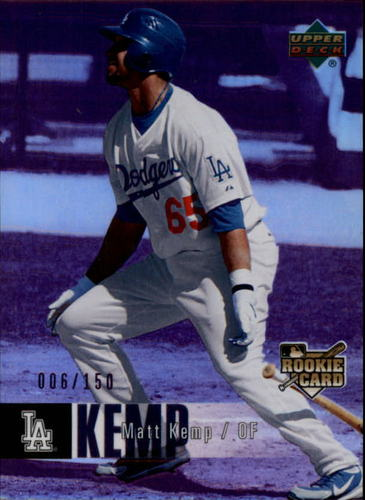 Photo of 2006 Upper Deck Special F/X Purple #997 Matt Kemp RC /150