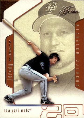 Photo of 2002 Flair #88 Jeromy Burnitz
