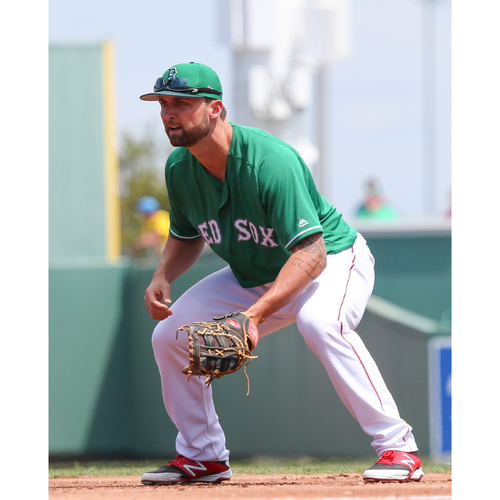 Photo of Red Sox Foundation St. Patrick's Day Jersey Auction - Sam Travis Game-Used & Autographed Jersey