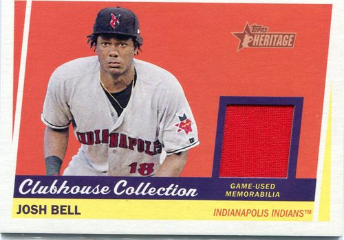 Photo of 2016 Topps Heritage Minors Clubhouse Collection Relics #CCRJBE Josh Bell