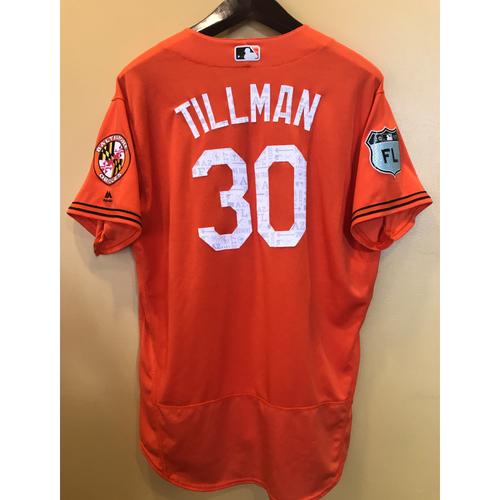 Photo of Chris Tillman - 2017 Spring Training Jersey: Team-Issued