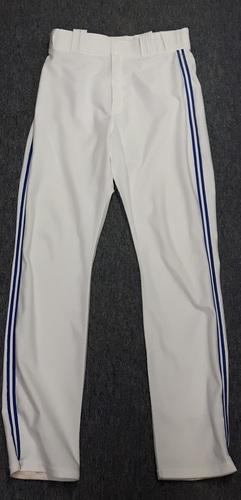 Authenticated Team Issued White Pants - #20 Josh Donaldson (2015 Season). Size 34-45 33 OB.