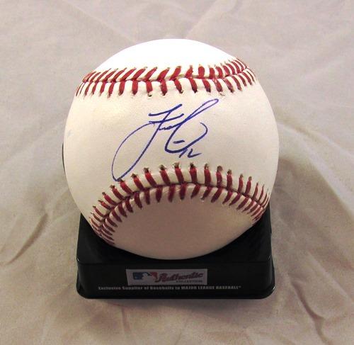 Photo of Francisco Lindor Autographed Official Major League Baseball