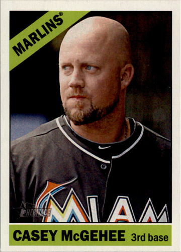 Photo of 2015 Topps Heritage #189 Casey McGehee