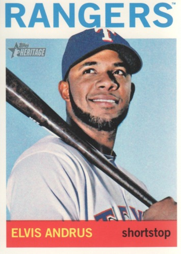 Photo of 2013 Topps Heritage #169 Elvis Andrus